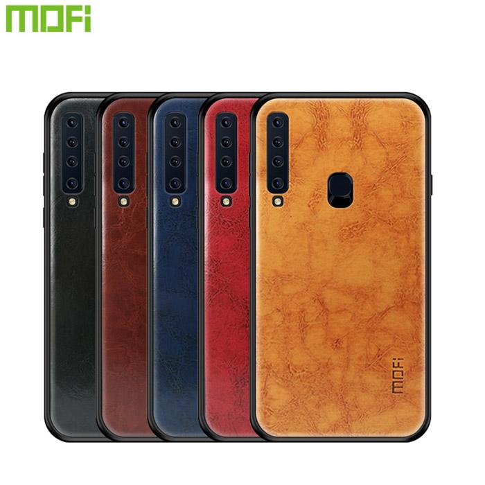 Ốp lưng Galaxy A9 2018 Mofi Pin Series vân da đẹp mắt sang trọng 1