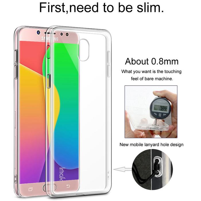 Ốp lưng Galaxy J7 Pro ( J7 2017 ) Imak OUR TPU nhựa dẻo trong suốt 1