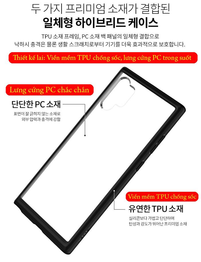 Ốp lưng Galaxy Note 10 Plus Spigen Ultra Hybrid trong suốt ( Hàng USA ) 2