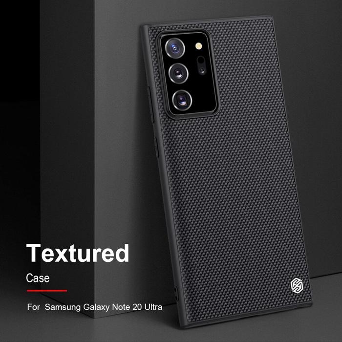 Ốp lưng Note 20 Ultra / 5G  Nillkin Texture 3D Case sợi Nylon siêu mỏng 4