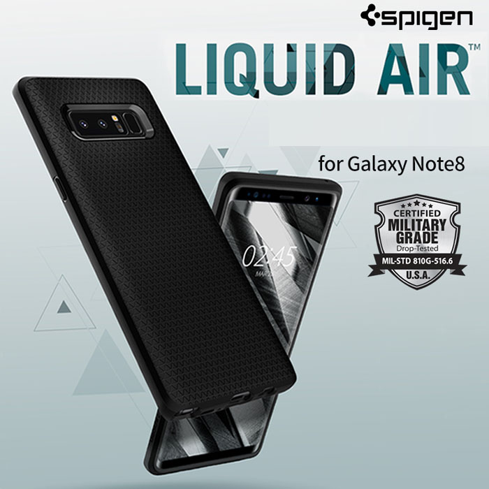 Ốp lưng Galaxy Note 8 Spigen Liquid Air Armor nhựa mềm ( USA ) 1