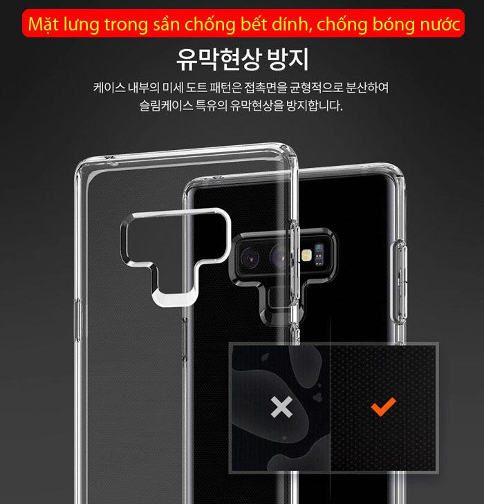 Ốp lưng Note 9 Spigen Liquid Crystal trong suốt - nhựa dẻo ( hàng USA ) 3