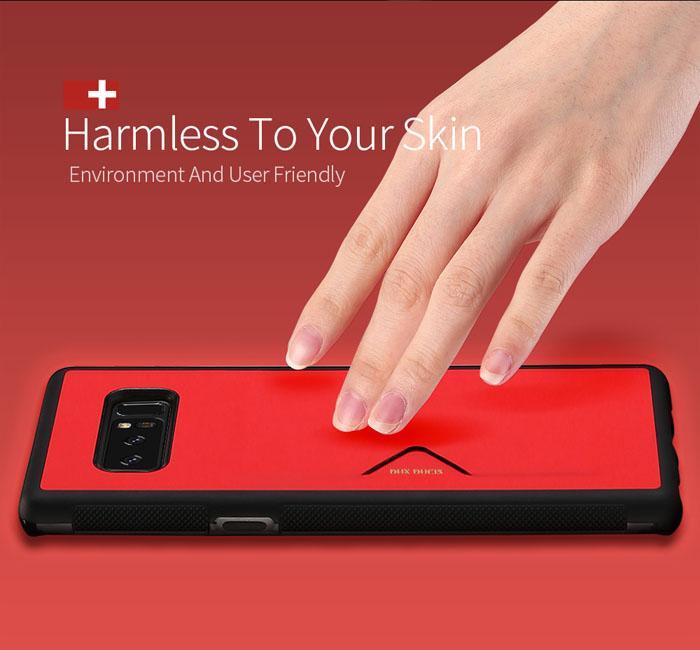 Ốp lưng Samsung Galaxy Note 8 Dux Ducis Pocard lưng da tuyệt đẹp 2