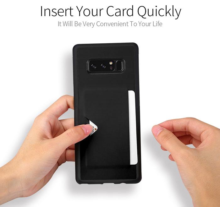 Ốp lưng Samsung Galaxy Note 8 Dux Ducis Pocard lưng da tuyệt đẹp 1