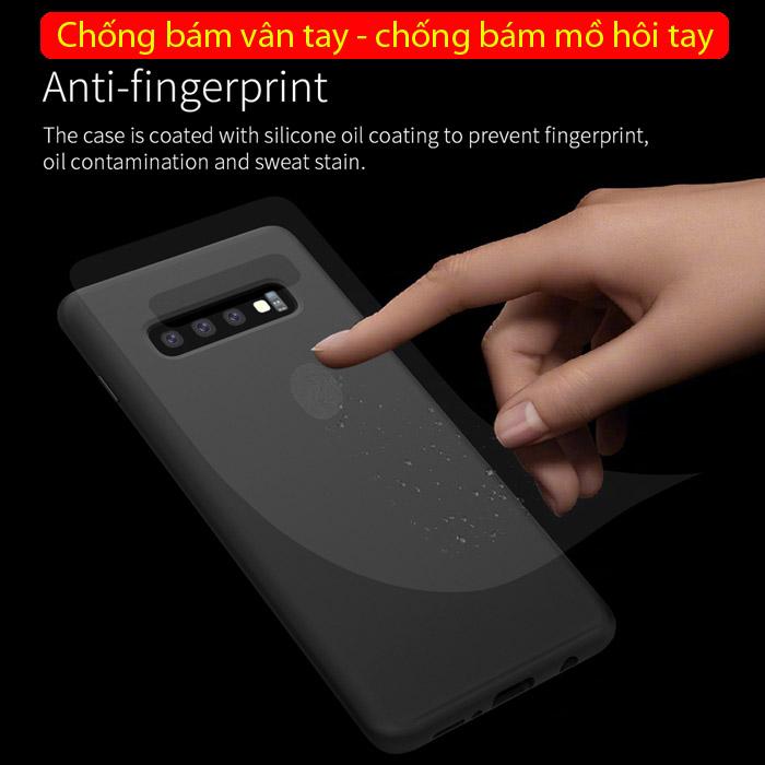 Ốp lưng Galaxy S10 Nillkin Flex Case Silicon lỏng mềm mịn 2