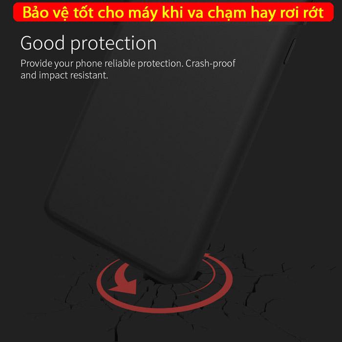 Ốp lưng Galaxy S10 Nillkin Flex Case Silicon lỏng mềm mịn 3