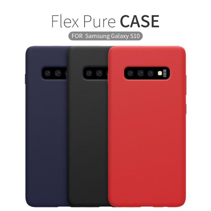 Ốp lưng Galaxy S10 Nillkin Flex Case Silicon lỏng mềm mịn 4