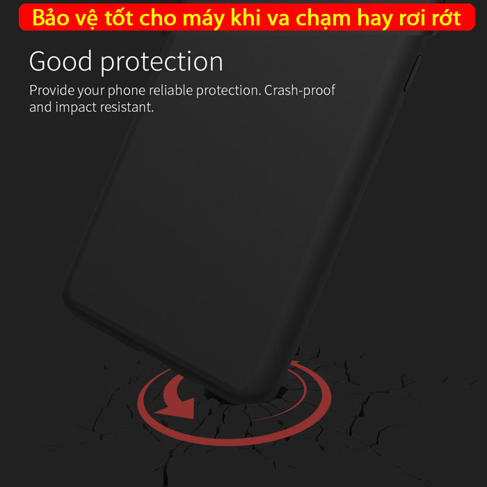 Ốp lưng Galaxy S10 Plus Nillkin Flex Case Silicon mềm mịn 3