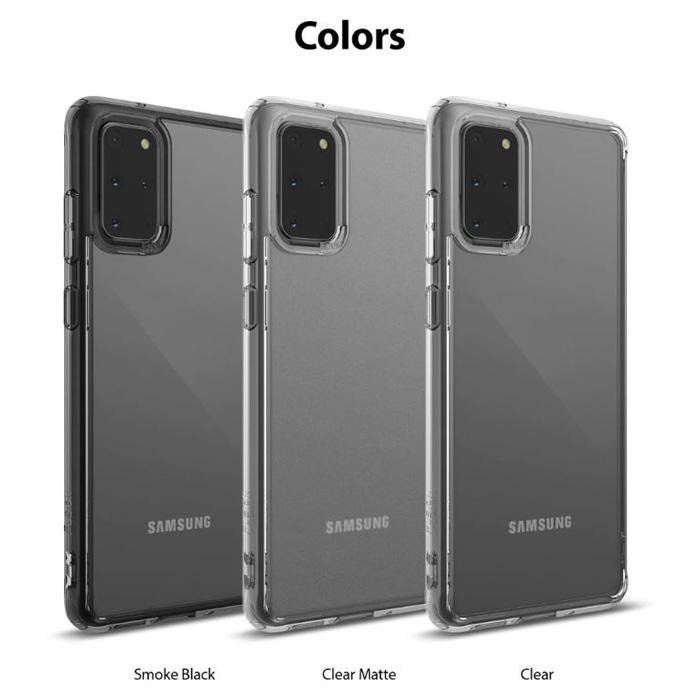 Ốp lưng Galaxy S20 Plus Ringke Fusion trong suốt + viền mềm ( USA ) 1