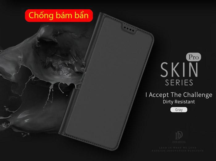 Bao da Galaxy A6 2018 Dux Ducis Skin siêu mỏng - khung mềm - mềm mịn 3