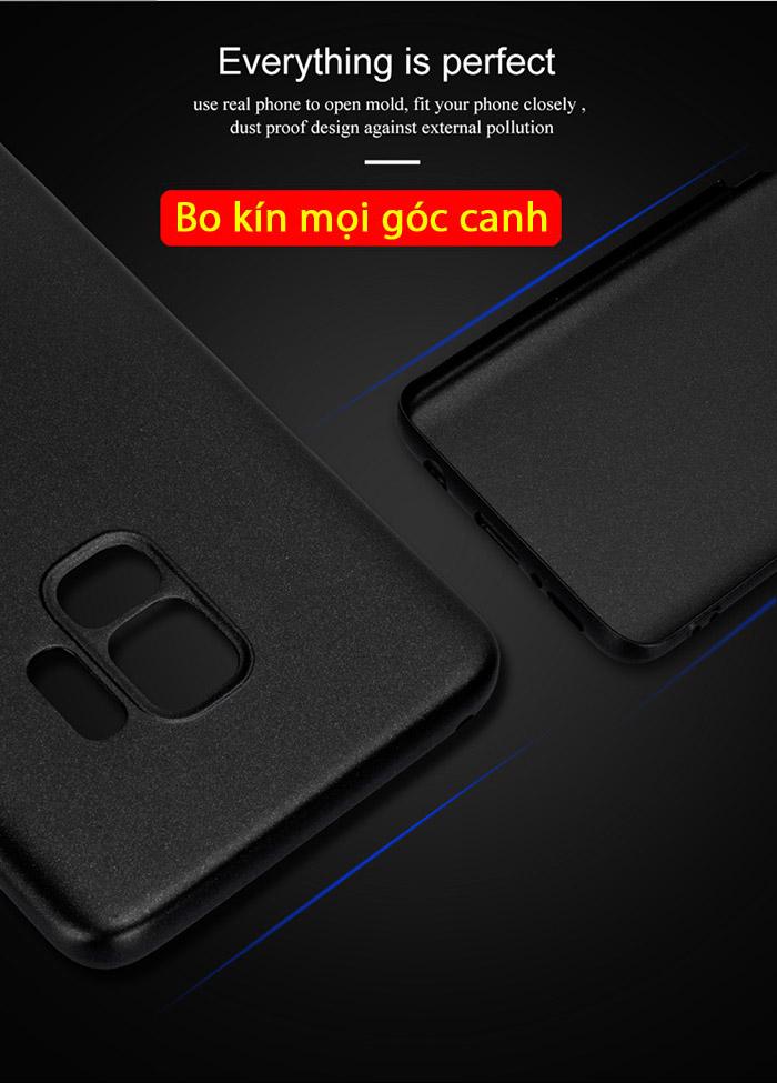 Ốp lưng Galaxy S9 Lenuo Leshield Case siêu mỏng lưng mịn 2