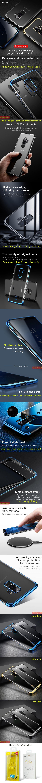 Ốp lưng Galaxy S9 Plus Baseus Glitter trong suốt viền crom sang trọng 3