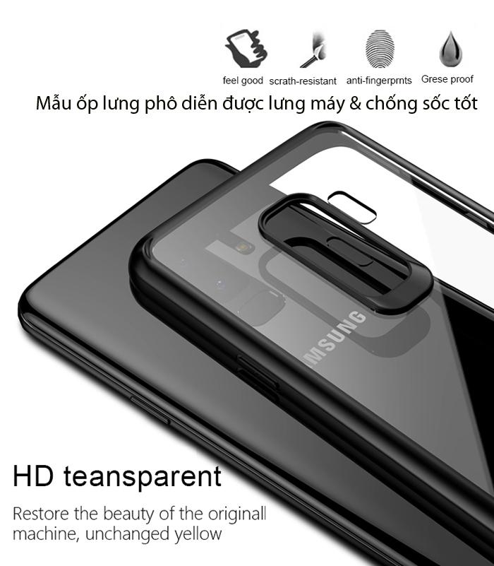 Ốp lưng Galaxy S9 Plus Ipaky Original Hybrid trong suốt - viền mềm 3