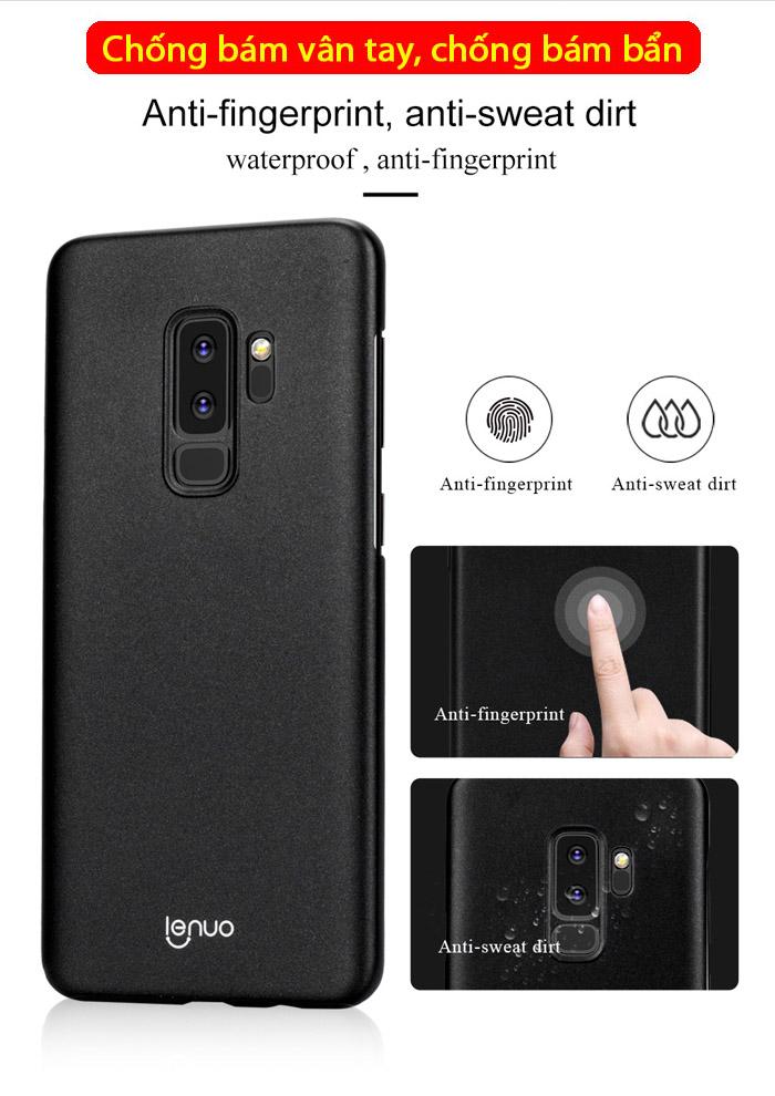 Ốp lưng Galaxy S9 Plus Lenuo Leshield Case siêu mỏng lưng mịn 1