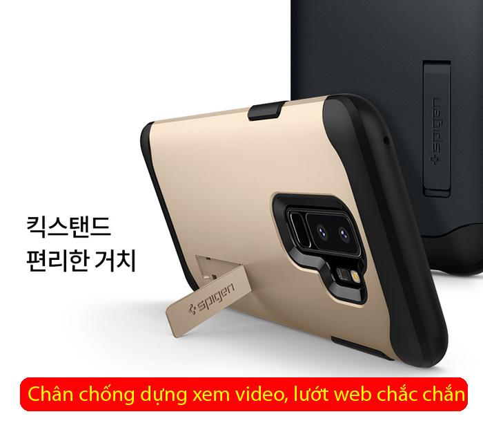 Ốp lưng Galaxy S9 Plus Spigen Slim Armor chống sốc từ USA 4