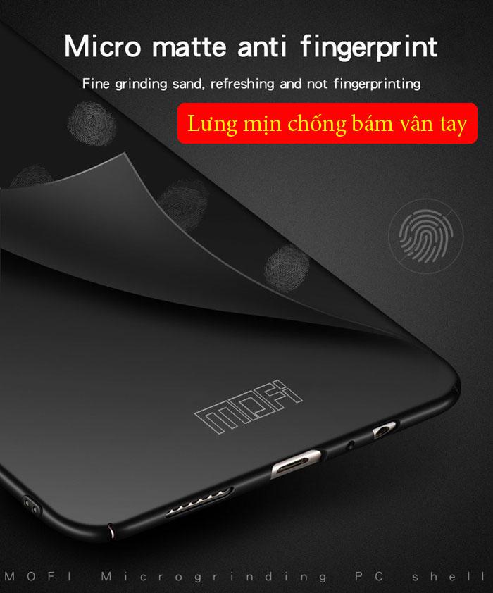 Ốp lưng Honor 8X Mofi Fitted Case 360 siêu mỏng, lưng mịn 1