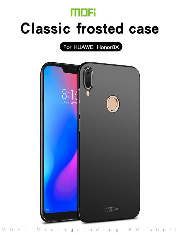 Ốp lưng Honor 8X Mofi Fitted Case 360 siêu mỏng, lưng mịn 3
