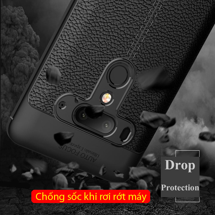 Ốp lưng HTC U12 Plus LT Leather Design Case vân da - sang trọng 3