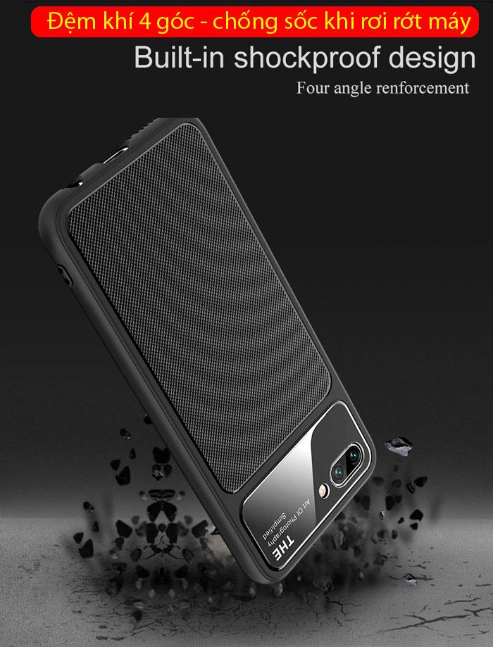 Ốp lưng Huawei Honor 10 Lenuo Lejazz Series chống vân tay 2