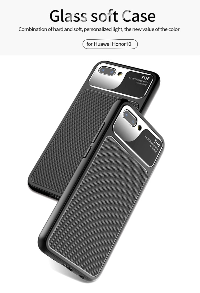 Ốp lưng Huawei Honor 10 Lenuo Lejazz Series chống vân tay 3