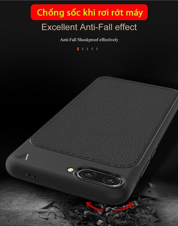 Ốp lưng Huawei Honor 10 Leshen Serie vân da sang trọng - chống vân tay 2