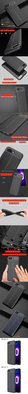 Ốp lưng Huawei Honor 10 LT Leather Design Case vân da - sang trọng 5