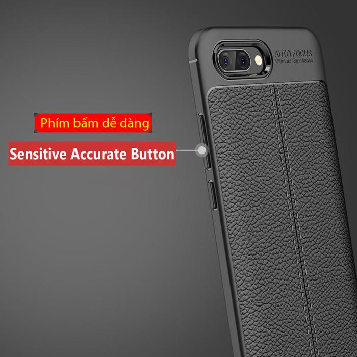 Ốp lưng Huawei Honor 10 LT Leather Design Case vân da - sang trọng 4