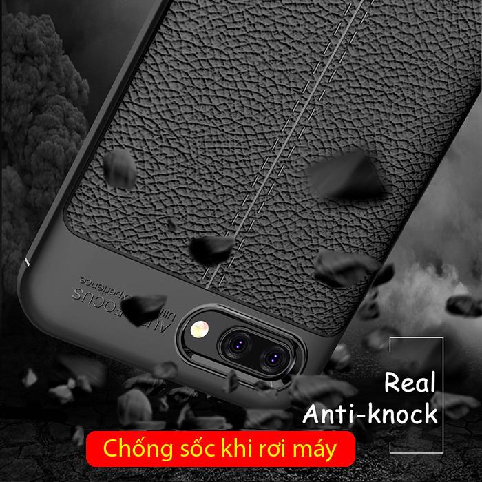 Ốp lưng Huawei Honor 10 LT Leather Design Case vân da - sang trọng 3