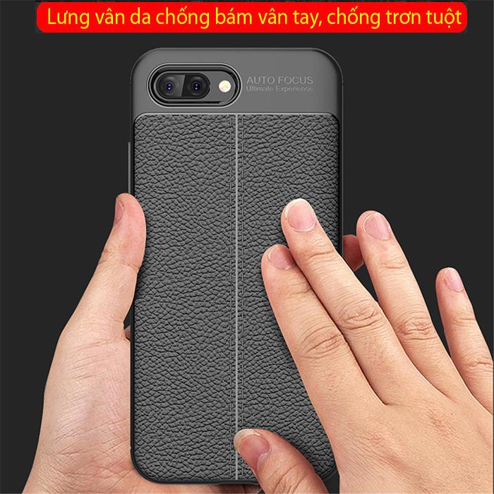 Ốp lưng Huawei Honor 10 LT Leather Design Case vân da - sang trọng 1
