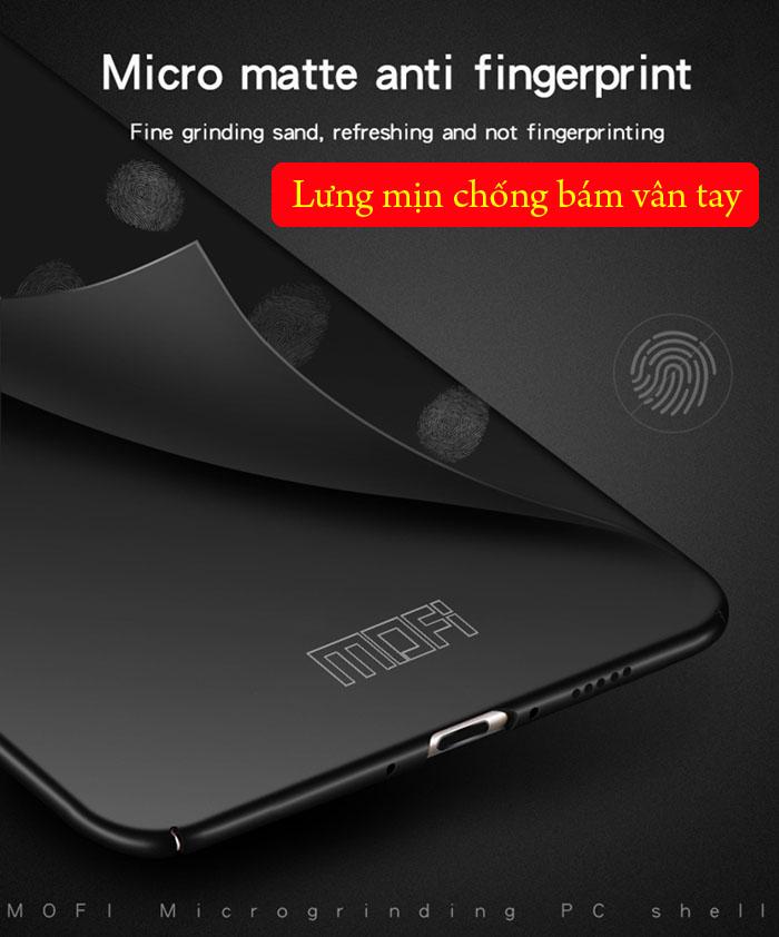 Ốp lưng Huawei Mate 20 Mofi Fitted Case 360 siêu mỏng, lưng mịn 1