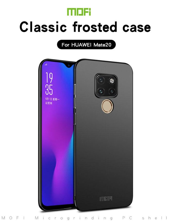 Ốp lưng Huawei Mate 20 Mofi Fitted Case 360 siêu mỏng, lưng mịn 3