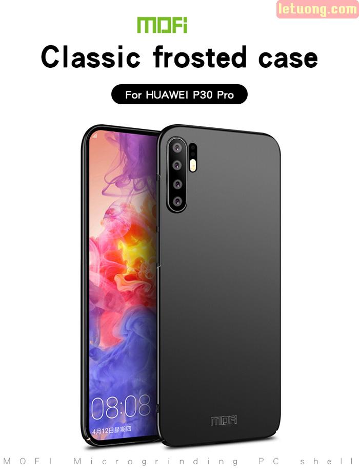 Ốp lưng Huawei P30 Pro Mofi Fitted Case 360 siêu mỏng, lưng mịn 3