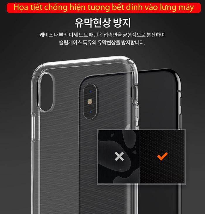 Ốp lưng iPhone Xs Max Spigen Liquid Crystal trong suốt ( Hàng USA ) 3