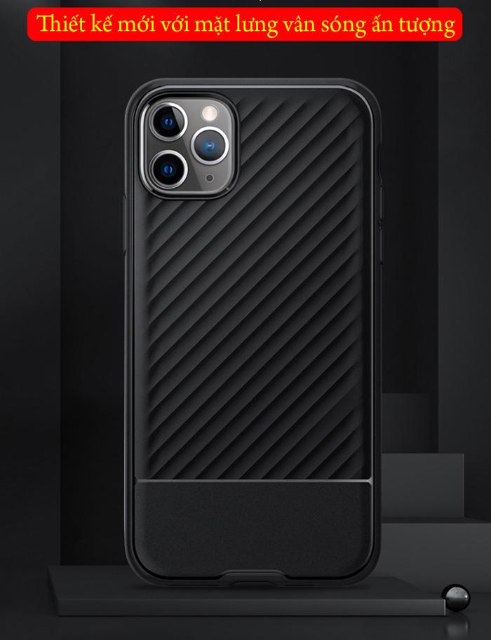 Ốp lưng iPhone 11 Pro Max Spigen Core Armor vân sóng ( hàng USA ) 1