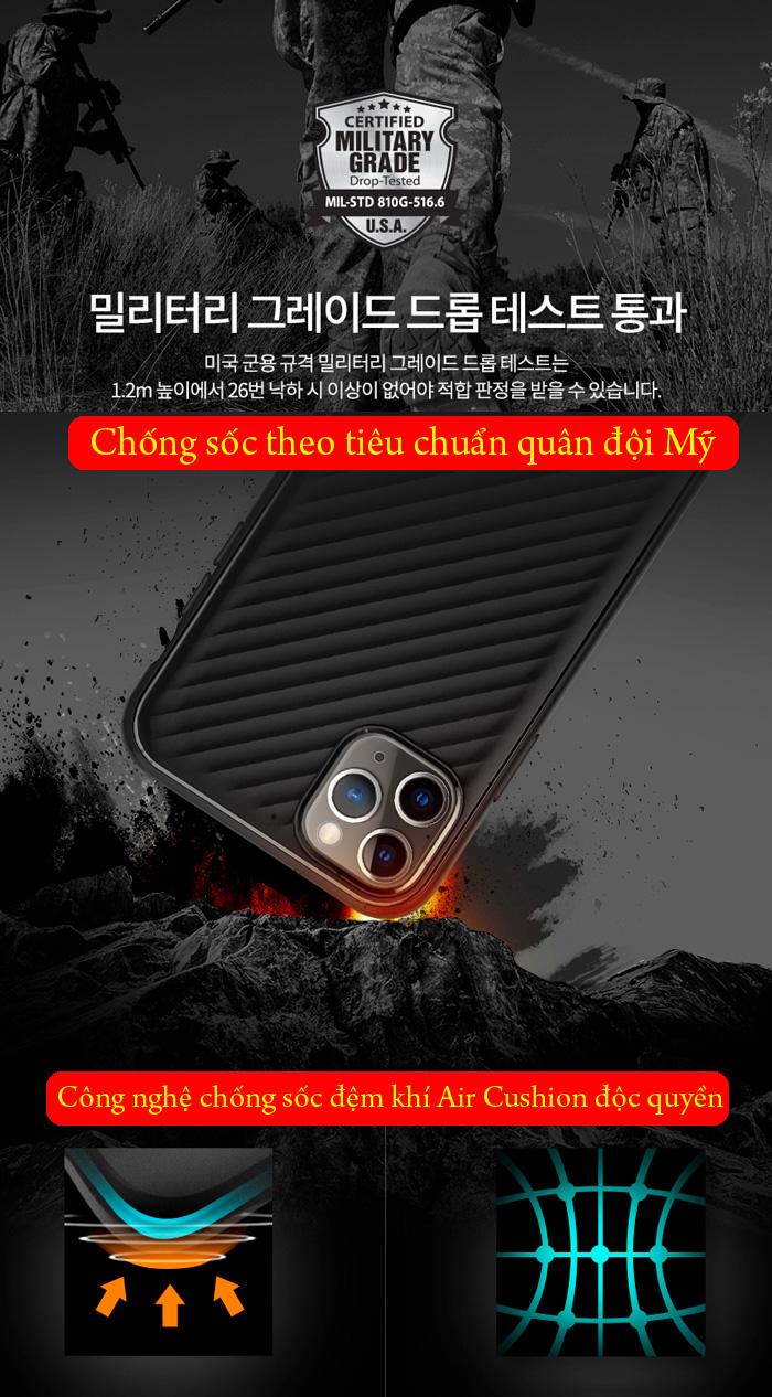 Ốp lưng iPhone 11 Pro Max Spigen Core Armor vân sóng ( hàng USA ) 3