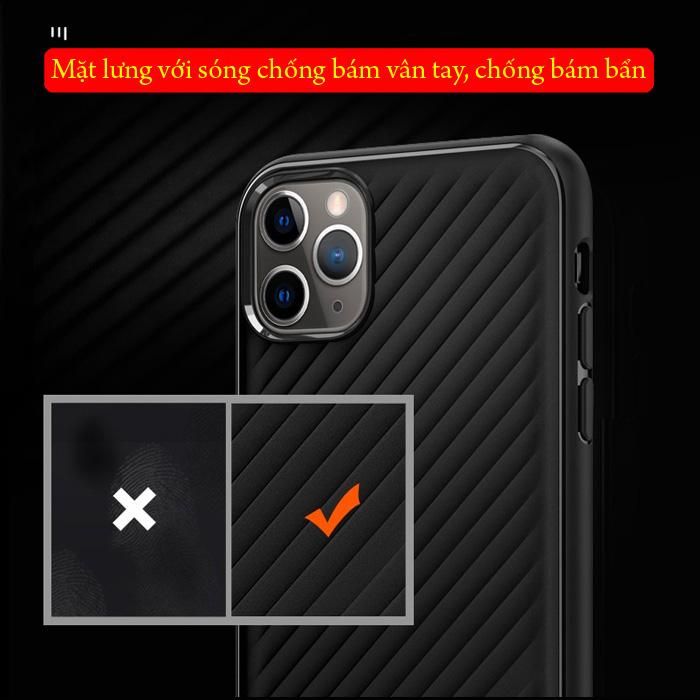 Ốp lưng iPhone 11 Pro Max Spigen Core Armor vân sóng ( hàng USA ) 6