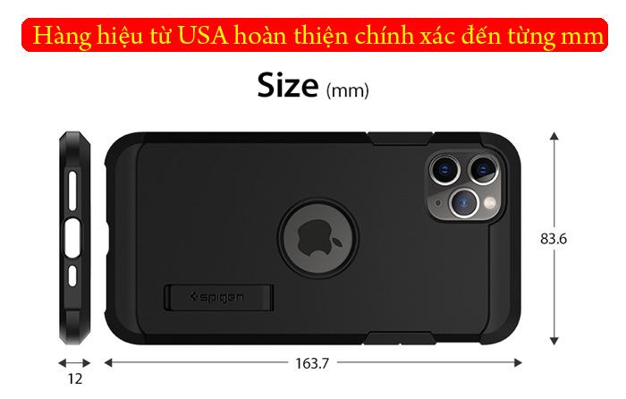 Ốp lưng iPhone 11 Pro Max Spigen Tough Armor chống va đập ( hàng USA ) 4