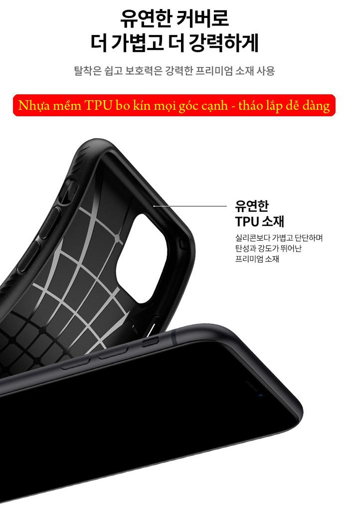 Ốp lưng iPhone 11 Spigen Liquid Air chống trơn tuột ( hàng USA ) 3