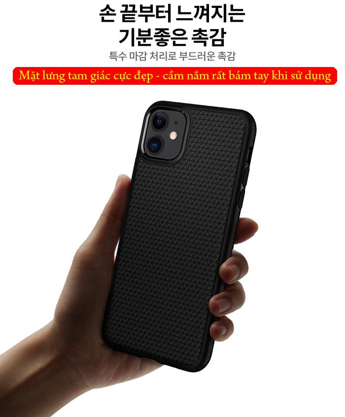 Ốp lưng iPhone 11 Spigen Liquid Air chống trơn tuột ( hàng USA ) 2