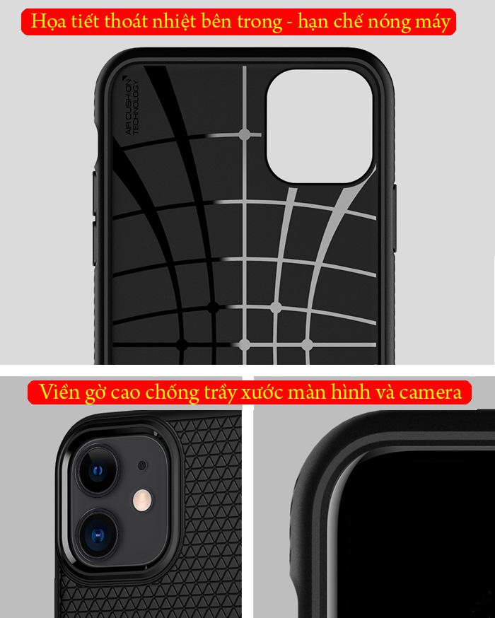 Ốp lưng iPhone 11 Spigen Liquid Air chống trơn tuột ( hàng USA ) 4
