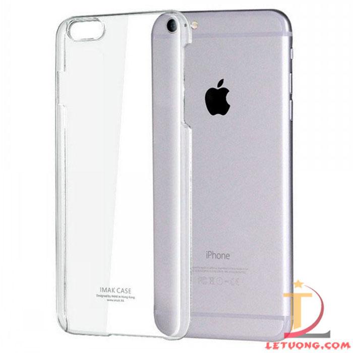 Ốp lưng Iphone 6 Imak trong suốt, lưng phủ Nano chống xước 8