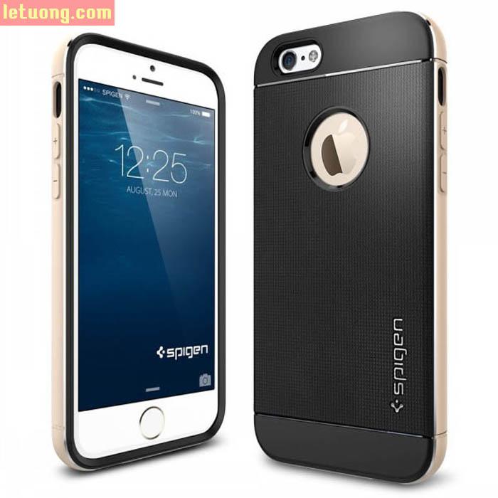 Ốp lưng Iphone 6 Plus/6S Plus Spigen Neo Hybrid Metal từ USA 2