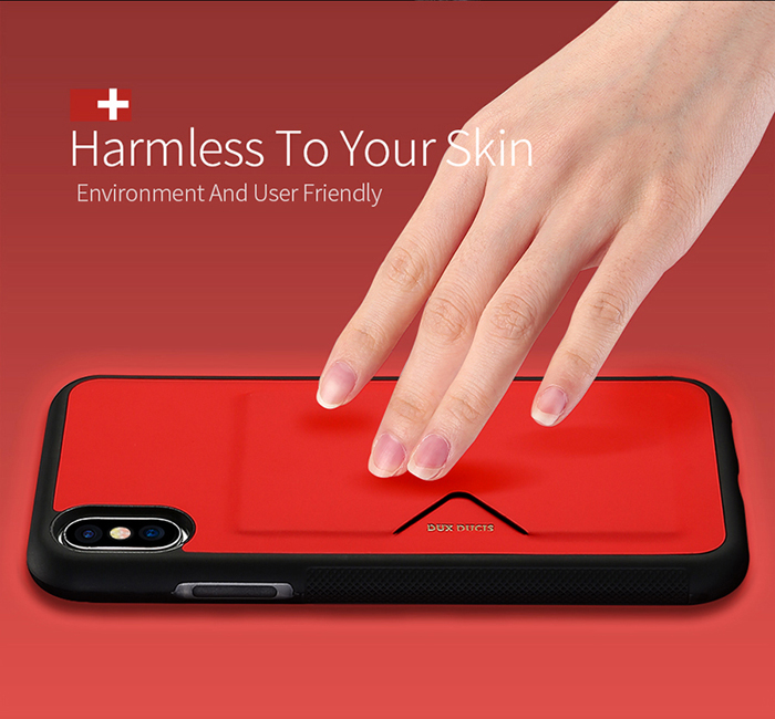 Ốp lưng Iphone X ( Iphone 10 ) Dux Ducis Pocard chống sốc, tiện lợi 2