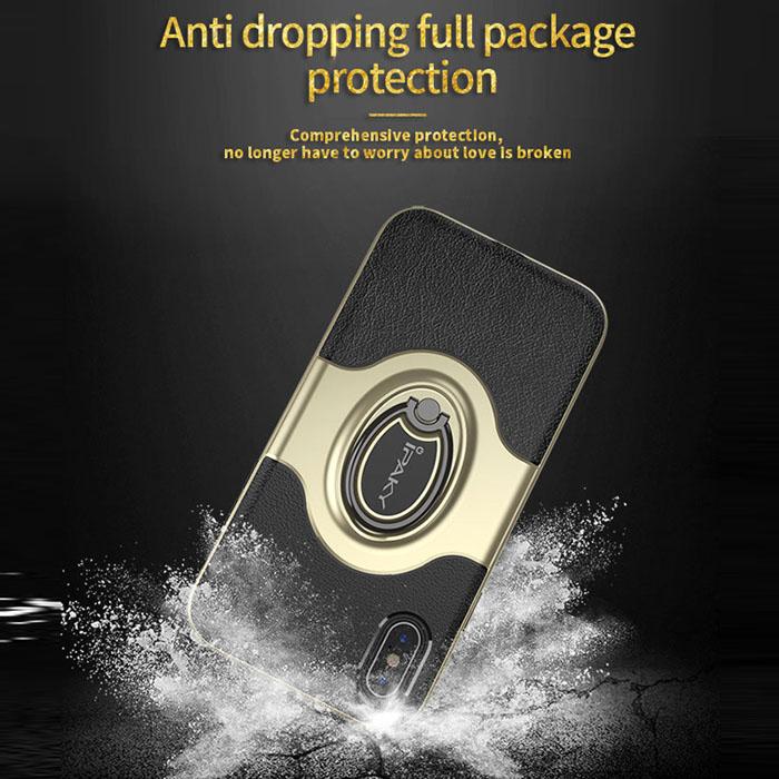Ốp lưng Iphone X Ipaky Iring Holder 360 Car độc đáo, tiện lợi 3