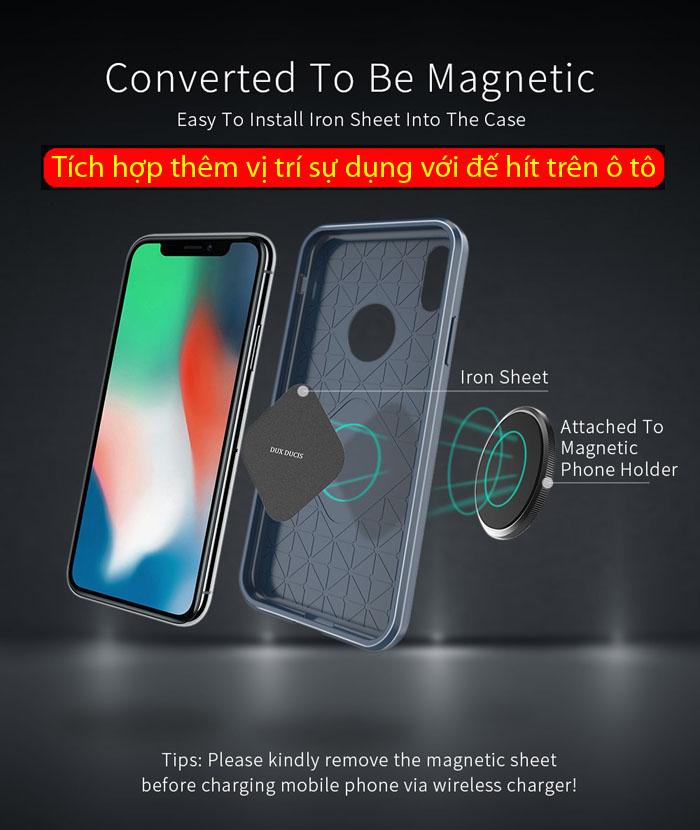 Ốp lưng iPhone X / Xs Dux Ducis Mojo Case nhựa mềm, chống sốc 4