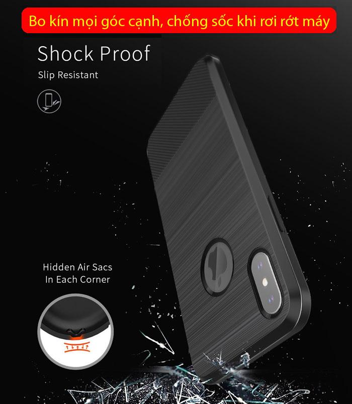 Ốp lưng iPhone X / Xs Dux Ducis Mojo Case nhựa mềm, chống sốc 3