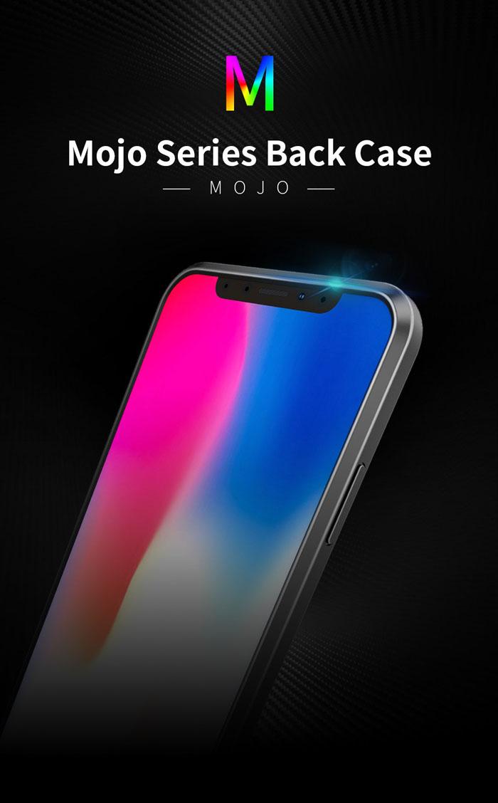 Ốp lưng iPhone X / Xs Dux Ducis Mojo Case nhựa mềm, chống sốc 5