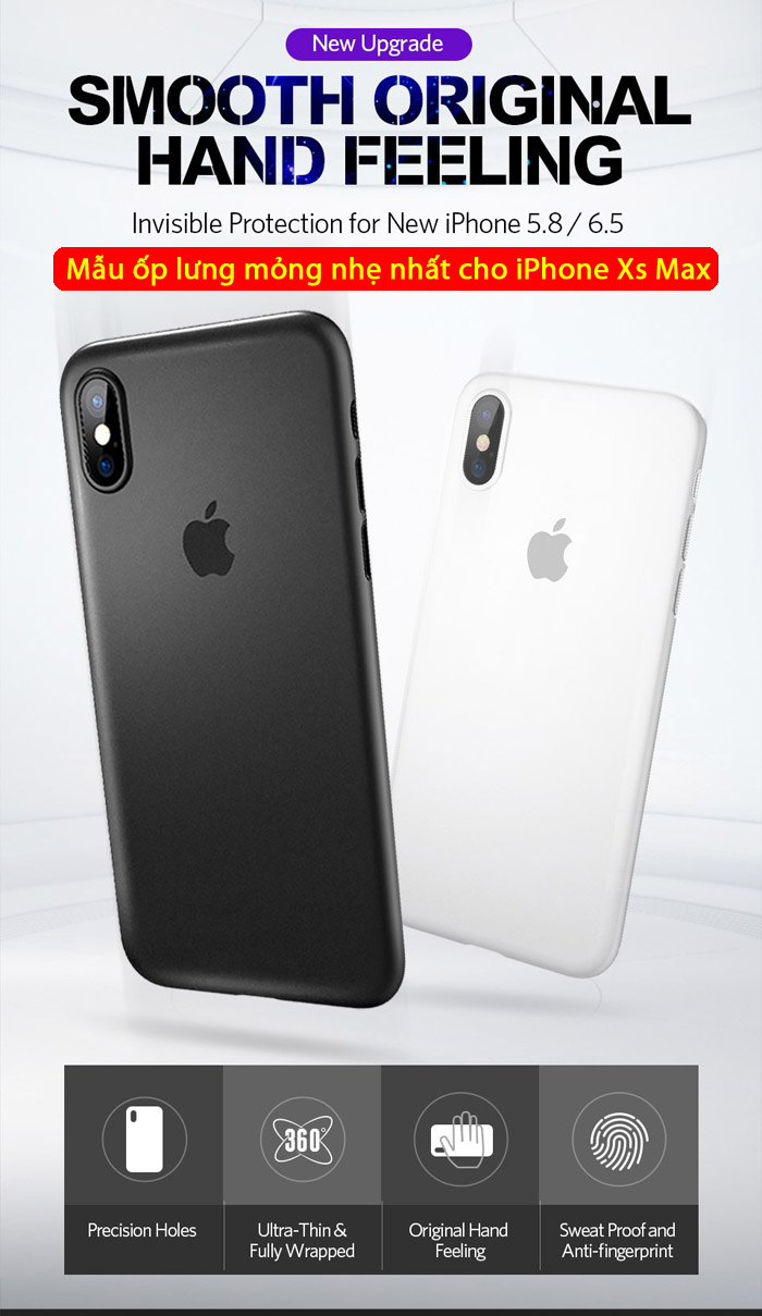 Ốp lưng iPhone Xs Max Benks Magic Lollipop 0,4mm siêu mỏng, siêu nhẹ 1