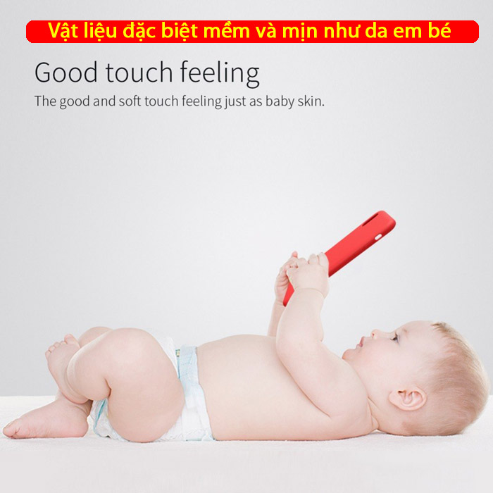 Ốp lưng iPhone Xs Max Nillkin Flex Case Silicon mềm mịn như da em bé 1