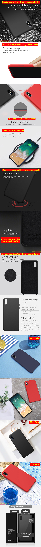 Ốp lưng iPhone Xs Max Nillkin Flex Case Silicon mềm mịn như da em bé 5